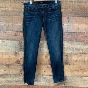 HUDSON Ava Super Skinny Crop Jeans Sz 28